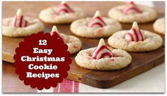 easy christmas cookies xmasblor