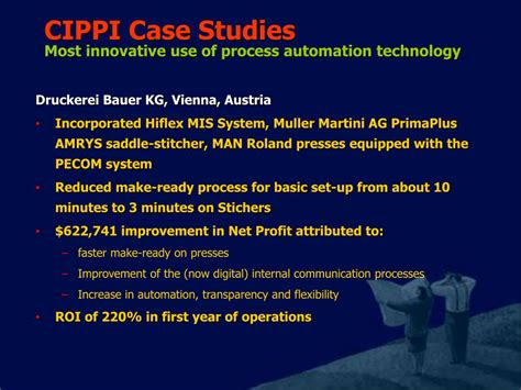 innovative process solutions automation engineering ppt print applications of jdf powerpoint presentation