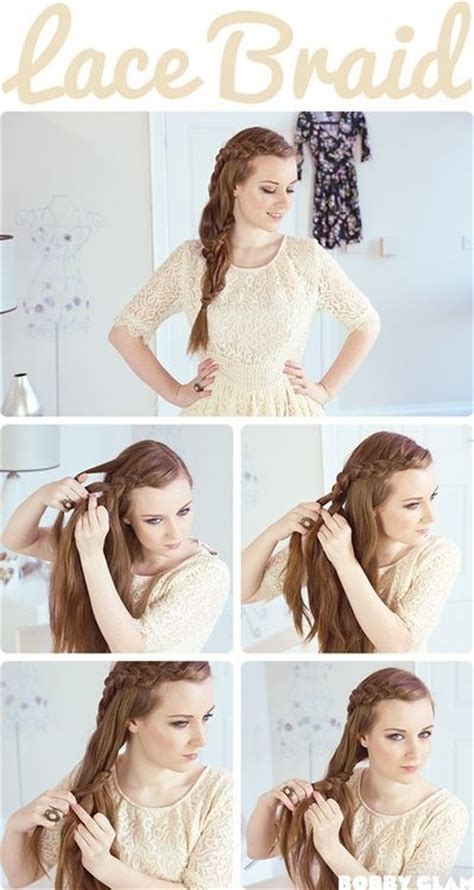 how to braid short hair step by step 15 cute hairstyles with braids popular haircuts