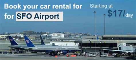 car rental san francisco airport sfo sfo airport car