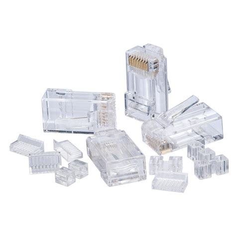 Cat 6 Rj 45 Connector By ideal rj45 cat6 modular plugs 25 pack 85 366 the home