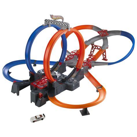 Hotwheels Loop Race new wheels mega loop childrens boys car race track play set ebay