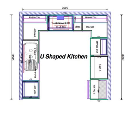 Design Your Own U Shaped Kitchen Image Kitchen Layouts | pinterest the world s catalog of ideas