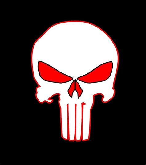 Jeep Skull Sticker Punisher Skull Vinyl Decal Sticker Car Vehicle Window