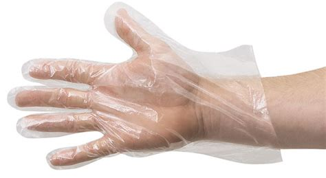 Handscoen Sarung Tangan Steril Gloves With Powder disposable plastic gloves blick materials