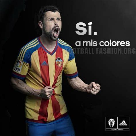 Jersey Valencia Away 2015 2016 valencia cf debut 2015 16 adidas away kit in real madrid draw football fashion org