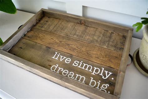 large wooden serving tray for ottoman large 20x14 ottoman tray serving tray coffee