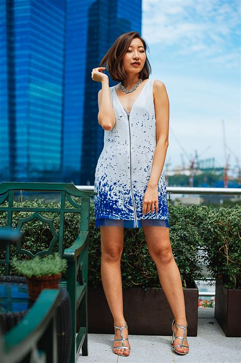 Fascinating Look In Sea Inspired How To Do Water Inspired Dress Www Pixshark Images Galleries