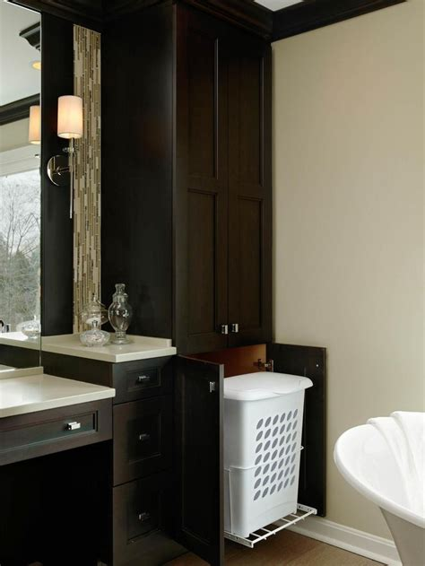 bathroom linen cabinet with her woodworking projects