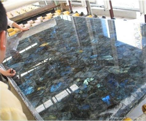 Semi Precious Countertops by Semi Precious Labradorite Tile Shining
