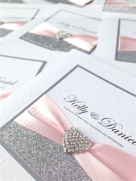 pink white and silver wedding invitations 25 best ideas about pink silver weddings on blush silver wedding pink and white