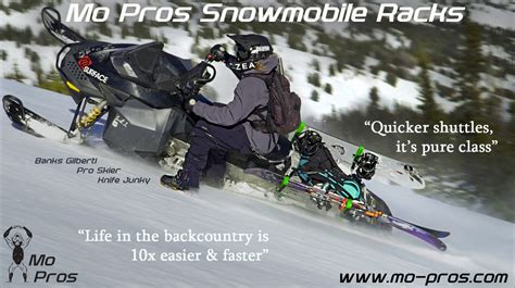 Snowboard Rack For Snowmobile by Mo Pros Snowmobile Ski Rack Pictures Newschoolers