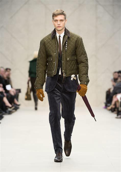 burberry prorsum autumn winter  collection mens