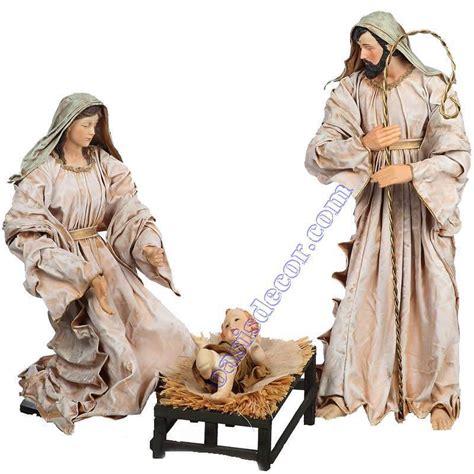 nacimiento de jesus imagenes grandes figuras nacimiento navidad grandes oasis decor