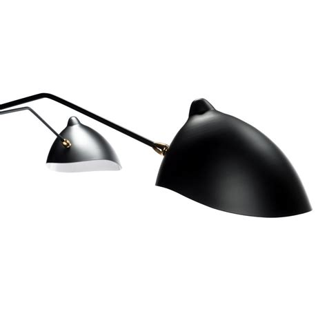Black 3 Arm Ceiling Light Mid Century 3 Arm Ceiling Light Black Black Rooster Decor