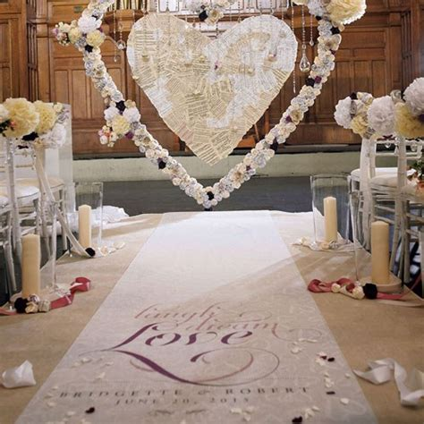 Wedding Aisle Runner Personalized by Expressions Personalized Aisle Runner Weddingstar