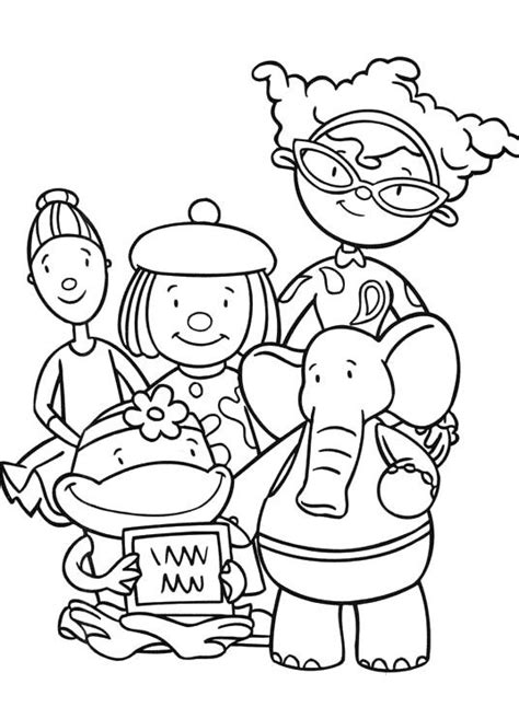 Bunnytown Coloring Page   25 best playhouse disney images on pinterest disney