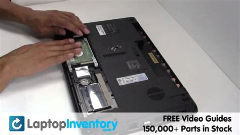 Harddisk External Acer acer aspire 7736 5536 drive replacement install or upgrade guide hd