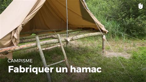 Comment Fabriquer Un Hamac by Fabriquer Un Hamac Construire Des Installations En For 234 T