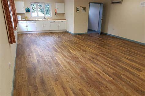 Halls Vinyl Flooring by Classic Limed Oak Karndean For Wareham