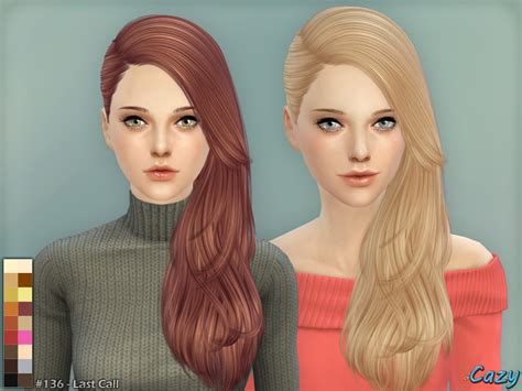 how to download hairstyles in sims 4 cazy s last call hairstyle sims 4