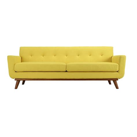 yellow loveseat furniture spiers sofa in yellow