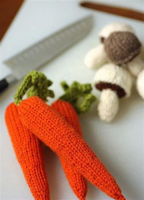 knitting pattern vegetables carrots free pattern crochet pinterest carrots