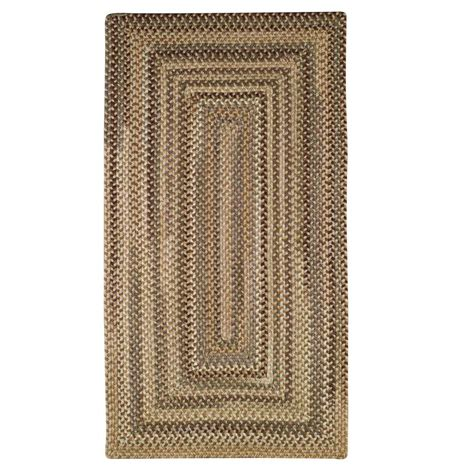 river rock rug capel applause concentric river rock 8 ft x 11 ft area rug 0051qs811750 the home depot