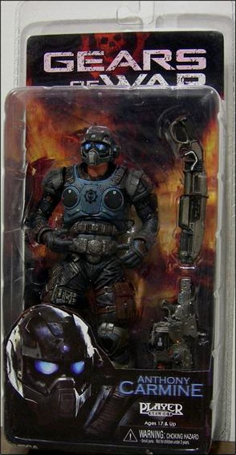 b carmine figure anthony carmine figure gears of war neca ebay