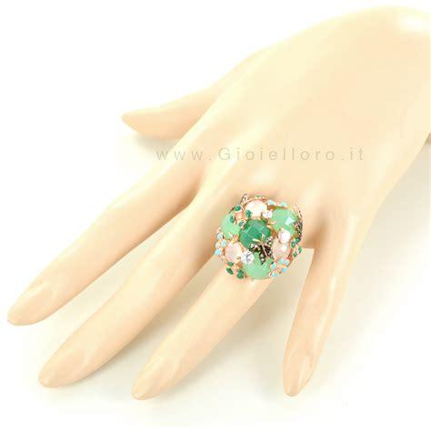 gioielli con fiori anello fiori e farfalle gioielli samui in argento e pietre
