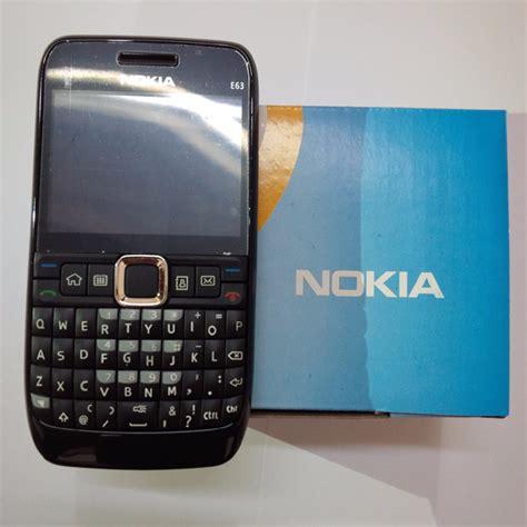 Hp Nokia Qwerty Murah jual nokia e63 qwerty laris nokia jadul murah hp nokia seri e63 langka zahro tekno mall