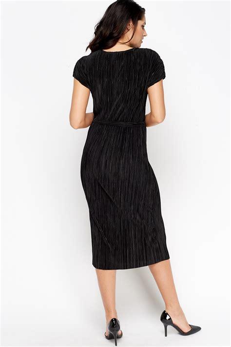 Maroon Just A Pleated Dress pleated midi tie dress maroon or black just 163 5