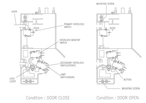 microwave wiring diagram capacitor circuit and