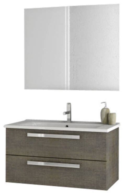 33 inch grey oak bathroom vanity set modern bathroom