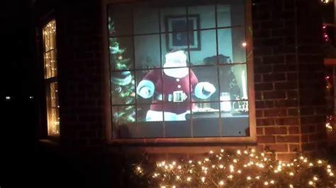 3d santa christmas light projection show virtual santa 2014 rear projection display atmostcheer fx