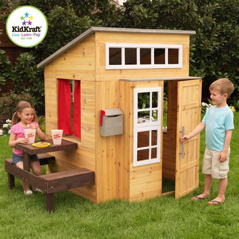 kids play houses adorable outdoor wood cottage playhouses for kids