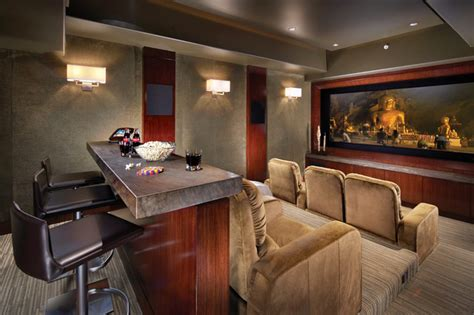 media room design home furniture decoration media rooms with small bar