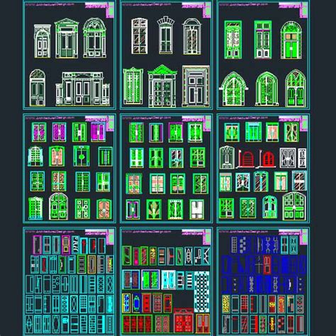 2d Cad Software Reviews door window and decorative hardware designs