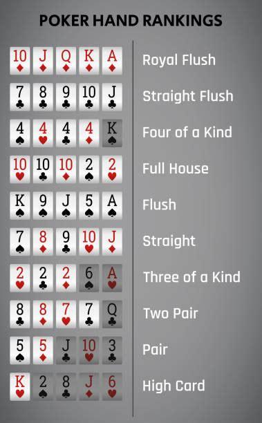 poker hand illustrations royalty  vector graphics