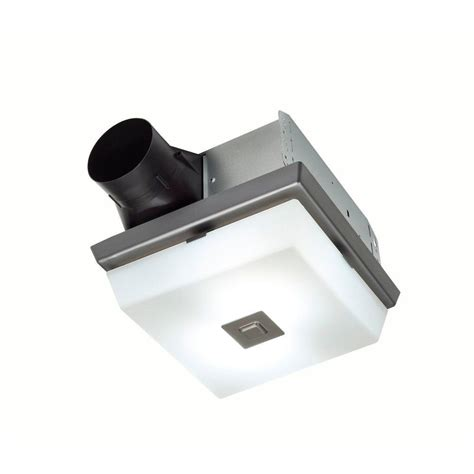 nutone invent decorative polished steel 70 cfm ceiling
