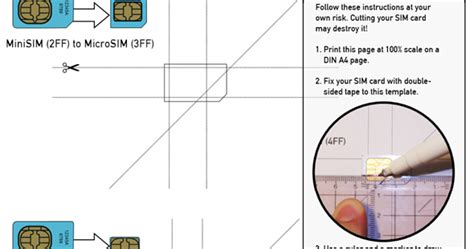 how to cut sim card to nano sim template thimphutech iphone 5 nano sim update