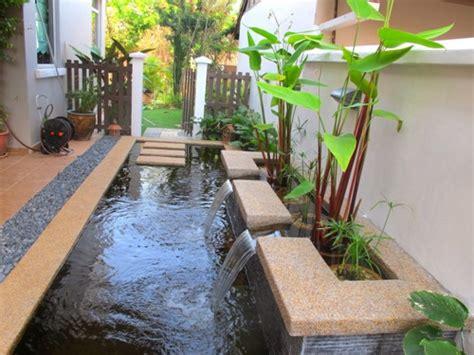 membuat ground rumah rumah minimalis modern 1 lantai dengan teras dan kolam