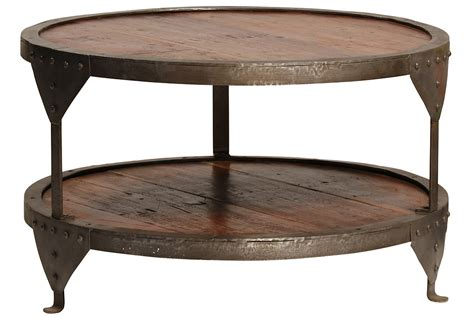 metal end table coffee tables ideas awesome round wood and metal coffee