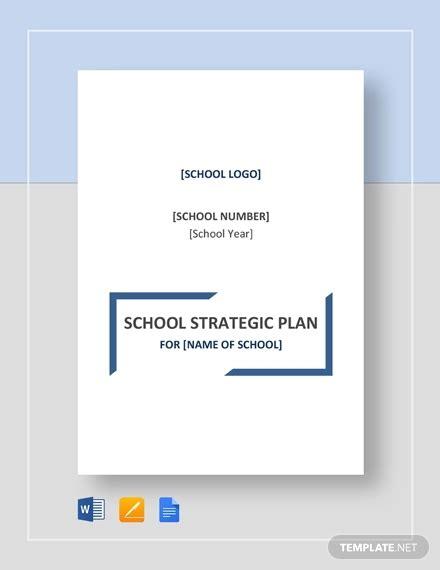 20 Strategic Plan Templates Pdf Doc Free Premium Templates School Strategic Plan Template