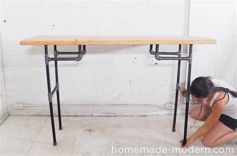 Homemade Modern Ep74 Standing Desk Home Made Standing Desk