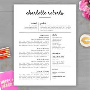 Free Creative Word Resume Templates by Creative Resume Template Resume For Word Pages 2 Page