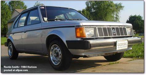 Chrysler Horizon by Chrysler Horizon Photos And Comments Www Picautos