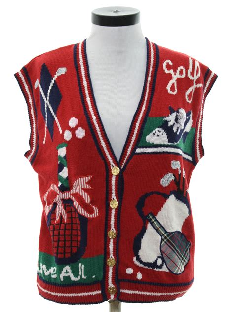 Golf Sweater Vest   Baggage Clothing