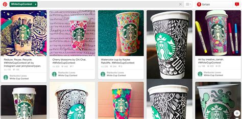 Starbucks Giveaway Instagram - the pr potential of pinterest q a with jennifer cario cision