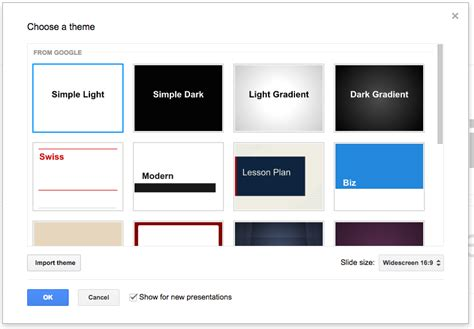 import themes for google slides appscare edit the master of an imported theme in google